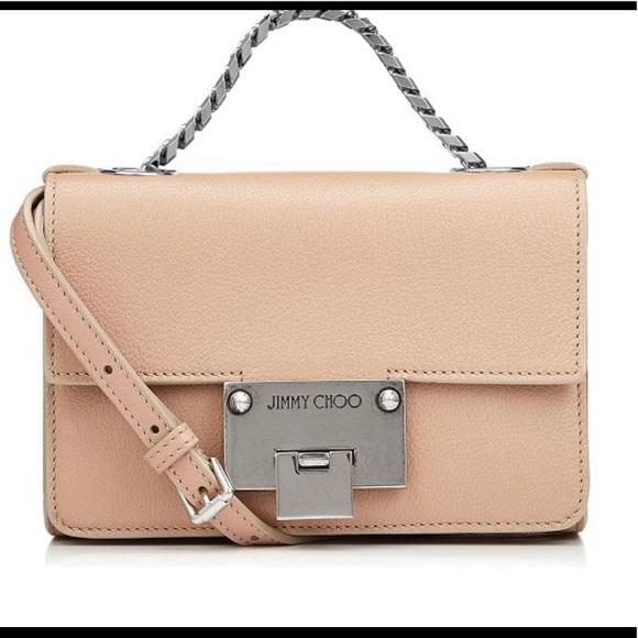 Jimmy Choo Handbags - Mini Rebel Ballet Pink